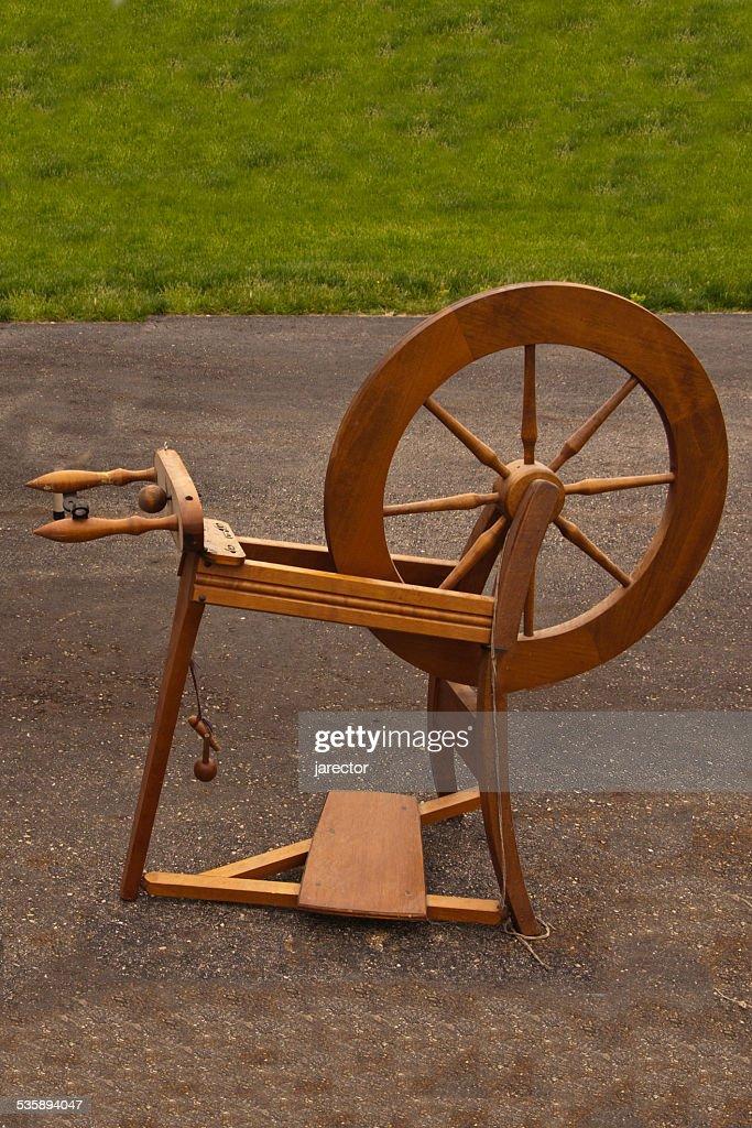Spinning Wheel : Stock Photo