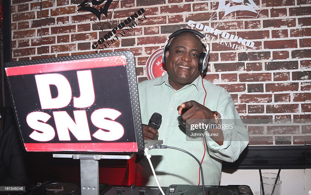 DJ SNS spins at the Compound Entertainment And Malibu Red GRAMMY Midnight Brunch 2013 at Bagatelle/STK on February 9, 2013 in West Hollywood, California.