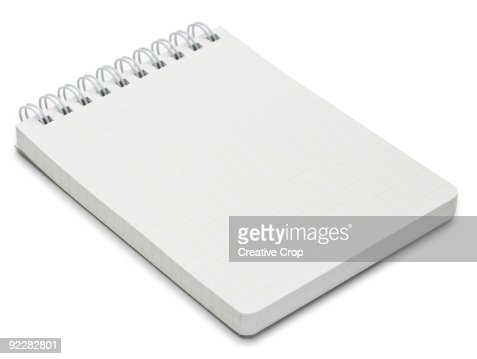 Spiral bound writing pad