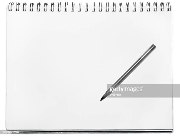 Carnet à spirale avec stylo