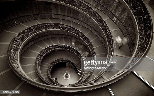 Musei vaticani foto e immagini stock getty images - Scale a chiocciola roma ...