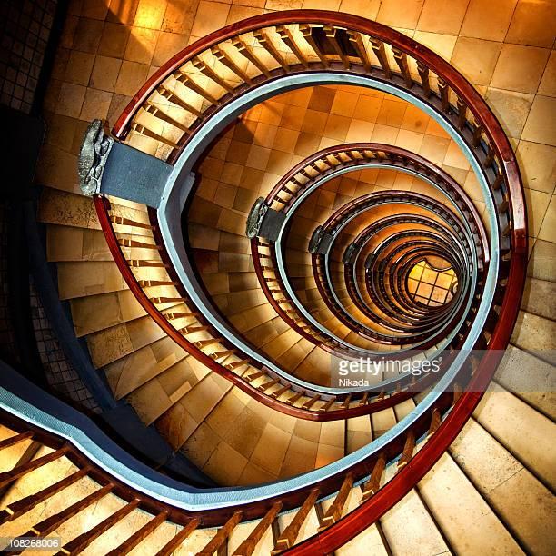 Spiral Wendeltreppe