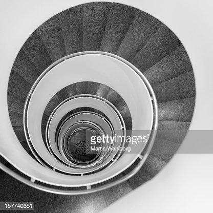 Escada em Caracol