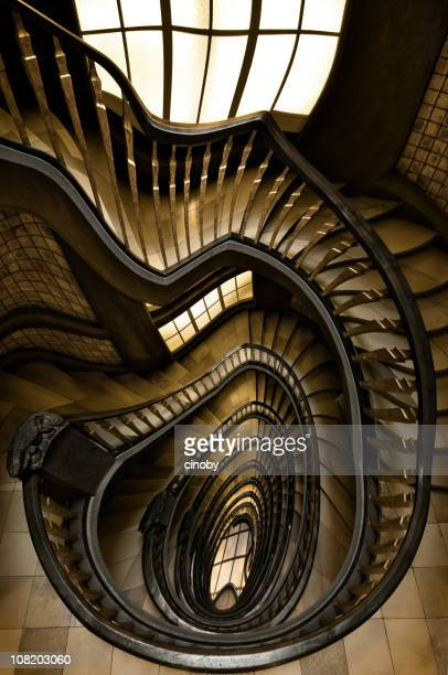 Spiral Staircase with Ripple Effect