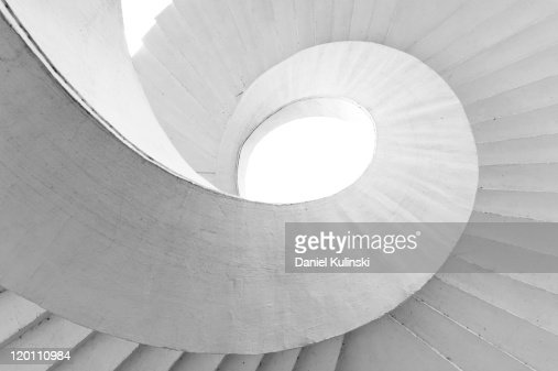 Spiral stairs : Stock Photo