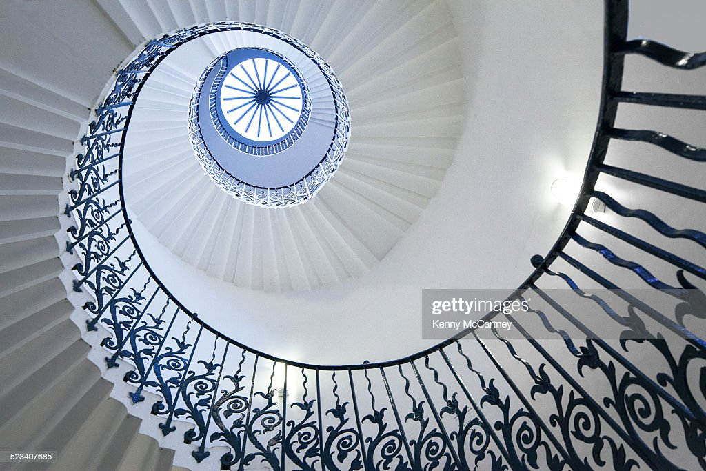 Spire staircase