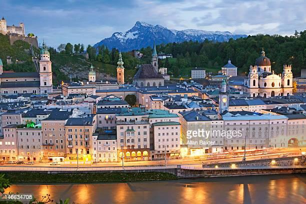 Spires in Salzburg