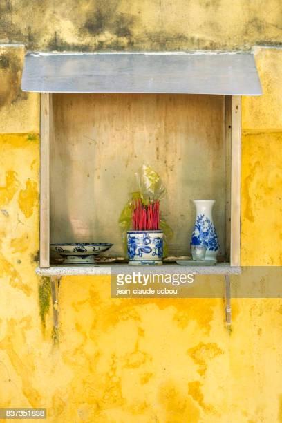 Spirit house in Hue City (Vietnam)