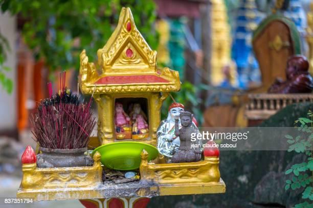 Spirit house in Sihanoukville city (Vietnam)