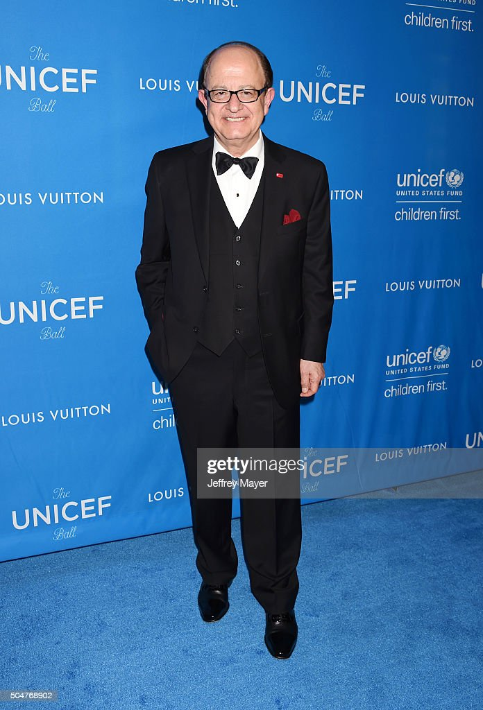 Spirit of Compassion Award Honoree/President of USC C.L. Max Nikias arrives at the 6th Biennial UNICEF Ball at the Beverly Wilshire Four Seasons Hotel on January 12, 2016 in Beverly Hills, California.