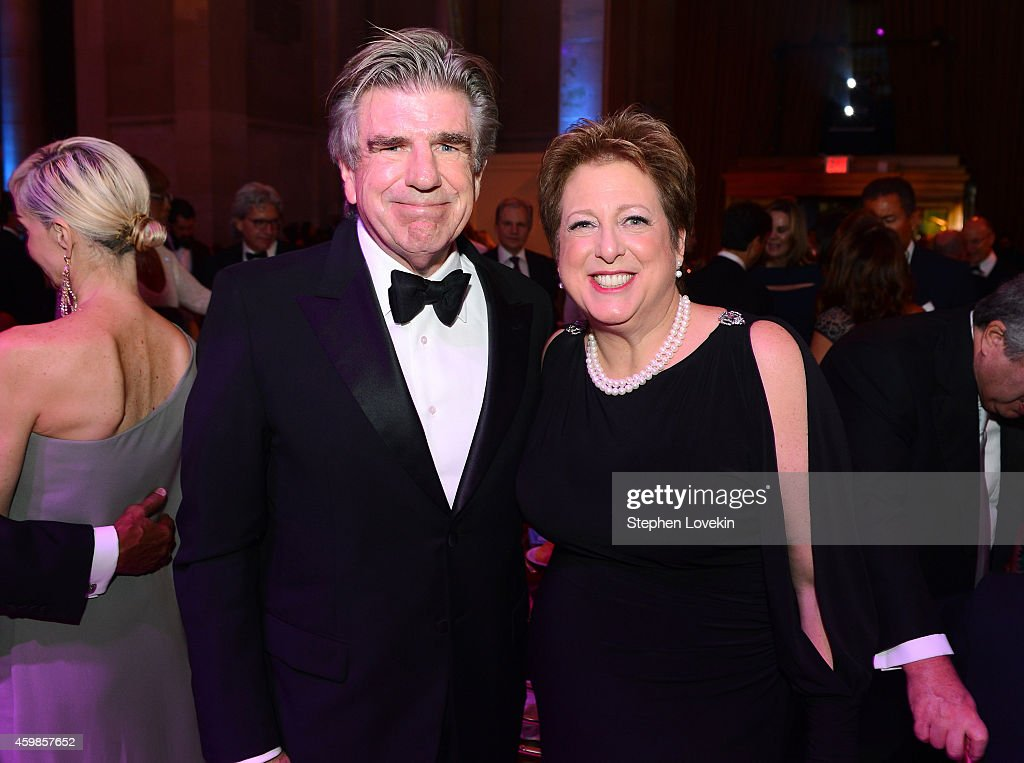 Spirit of Compassion Award recipient Tom Freston and President and CEO of US Fund for UNICEF Caryl Stern attend the Tenth Annual UNICEF Snowflake...