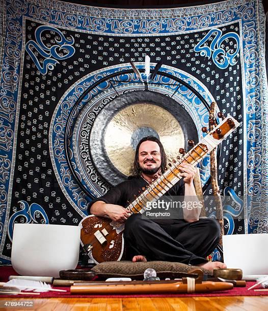 Spiritual Vibrational Sound Healer Portrait