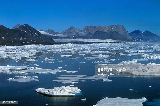 Spitzbergen Packice Along Eastern Coast