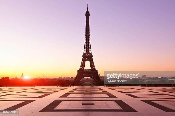 Splanade of Trocadero, Paris