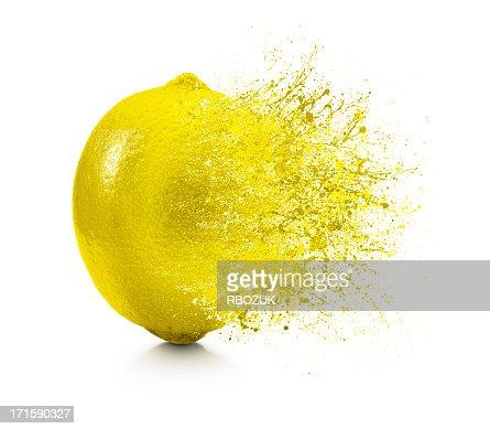 Spritzer Zitronen