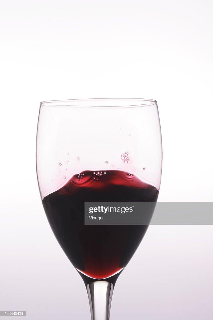 Splash in wine : Stock Photo