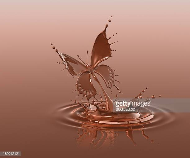 Splash Of Chocolate Butterfly