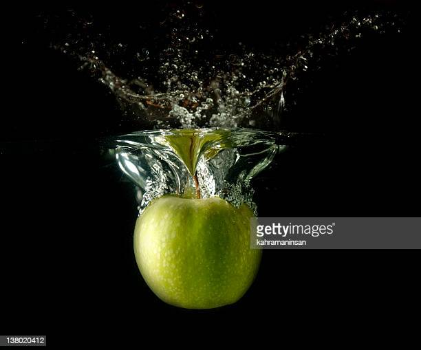 Splashing Apple