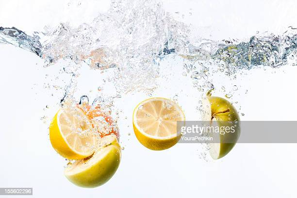 Splashing citrus