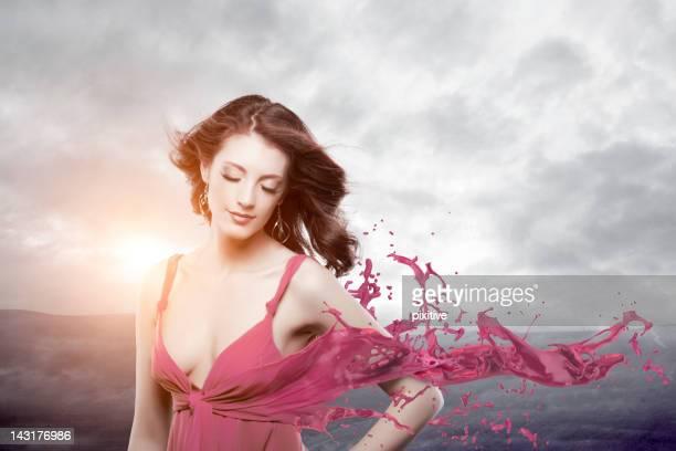 Splashing dress