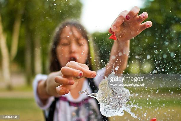 Splashing some waterbombs