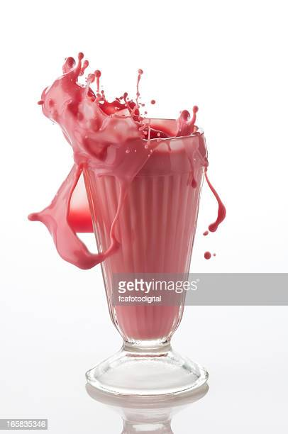 Splashing Strawberry Smoothie