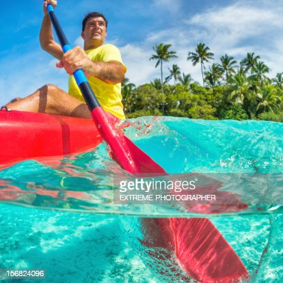 Splashing the water : Stock Photo