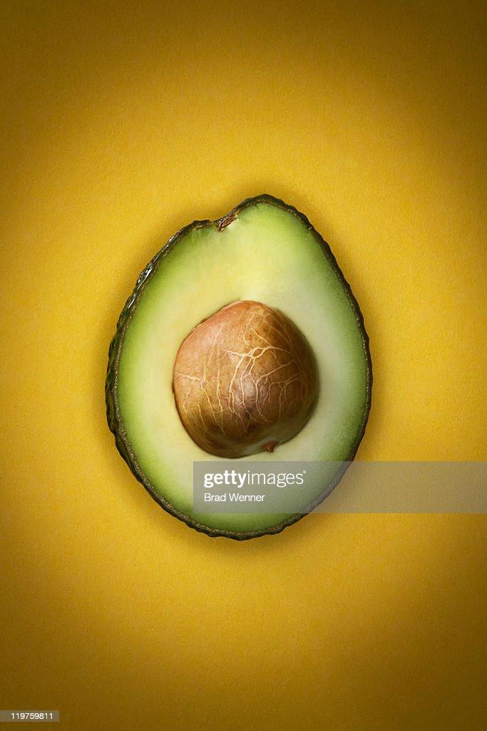 Split Avocado : Stock Photo