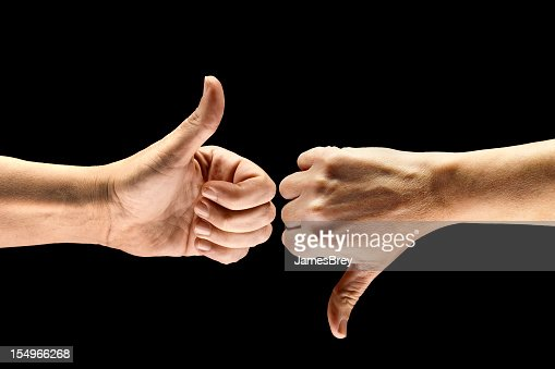Split Decision; Thumbs-Up, Thumbs-Down