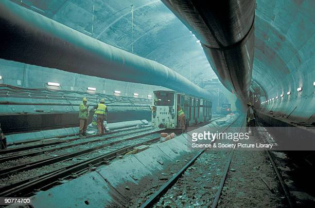 Dover Calais Tunnel >> Channel Tunnel Stock Photos and Pictures   Getty Images