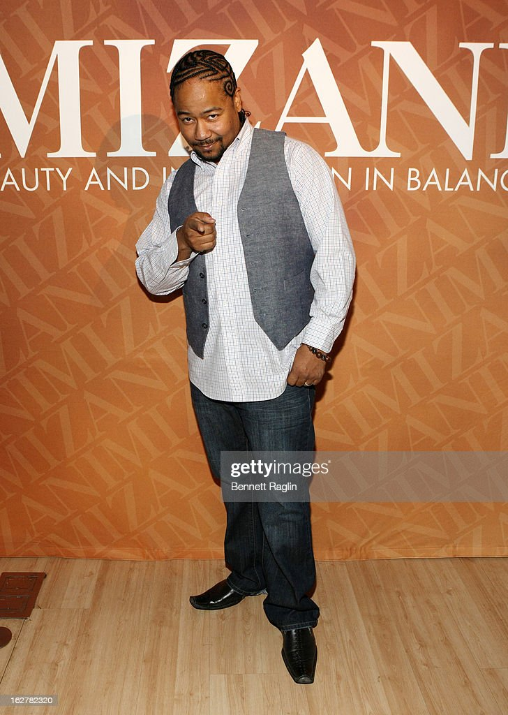 Spoken word artist Abyss attends 'The Spoken Word' Hosted By Kim Coles at L'Oreal Soho Academy on February 26, 2013 in New York City.