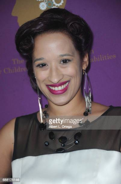 Spoken word artist Jennifer Thompson arrives for The Jonathan Foundation Presents The 2017 Spring Fundraising Event To Benefit Children With Learning...