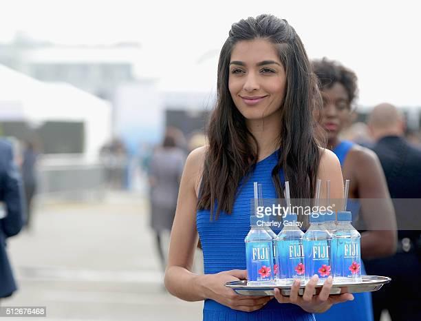 FIJI spokesmodel at the 2016 Film Independent Spirit Awards sponsored by FIJI Water on February 27 2016 in Santa Monica California