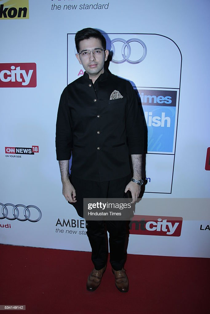 AAP spokesperson Raghav Chadha arriving at red carpet forHindustan Times Most Stylish Awards 2016 at hotel JW Marriot, Aerocity on May 24, 2016 in New Delhi, India.