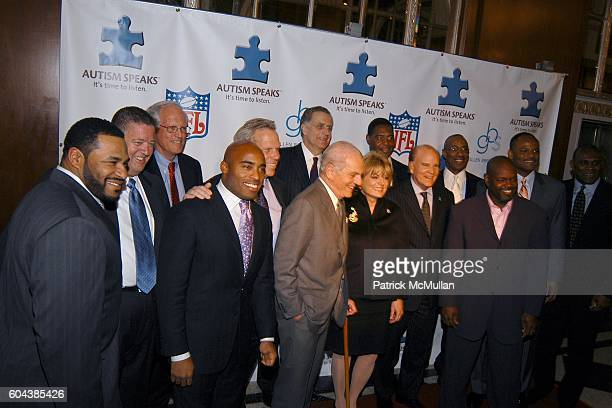Sponsors and Honorees Jerome Bettis Charlie Weis Henry Schacht Tiki Barber Steve Tisch Jamie Houghton Paul Tagliabue Suzanne Wright Marcus Allen Bob...