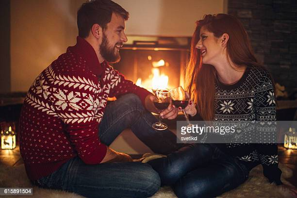 Spontaneous romantic evening