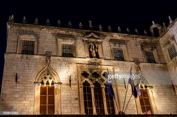 Sponza Palace in Dubrovnik old town,  Dalmatia, Croatia