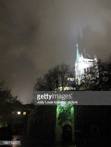 Spooky Church : Foto de stock