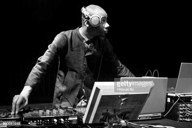 DJ Spooky performing in 'Rebirth of a Nation' at Alice Tully Hall on Friday afternoon July 23 2004 It is part of Lincoln Center Festival