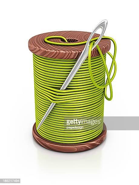 Spule thread von
