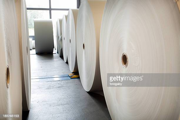 Spools of paper