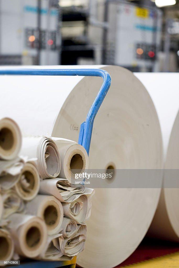 Spools of paper : Stock Photo