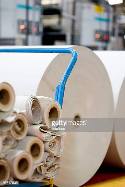 Spools of paper