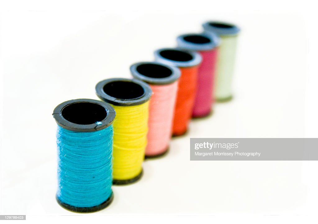 Spools of thread : Stock Photo