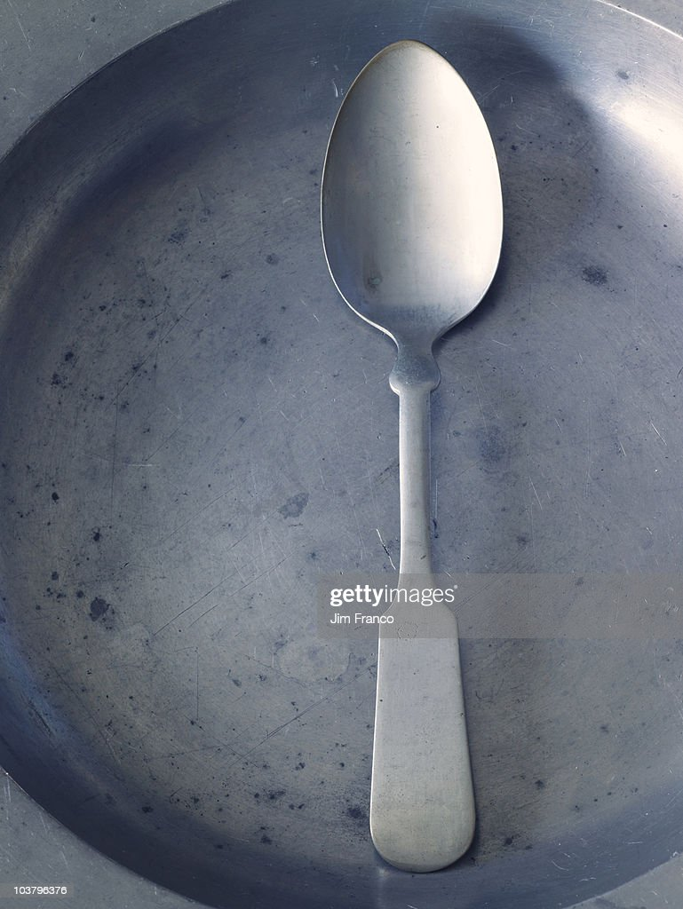 Spoon and dish