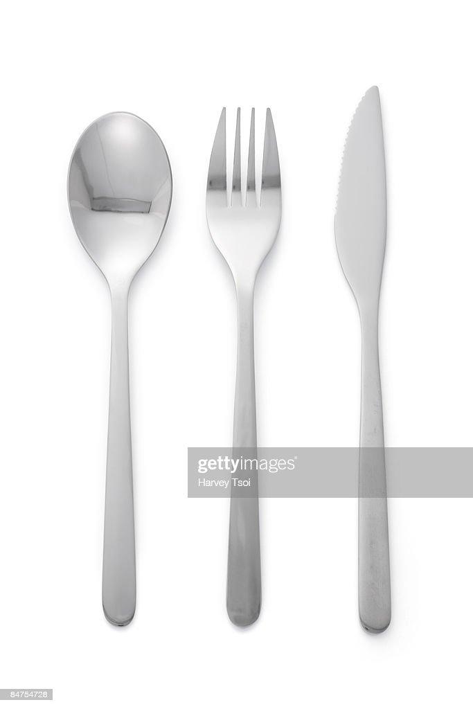 Spoon Fork Knife : Stock-Foto