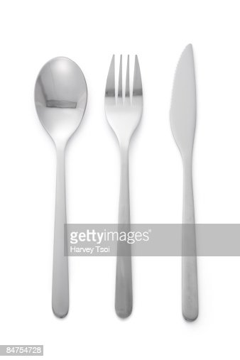 Spoon Fork Knife : Stock Photo