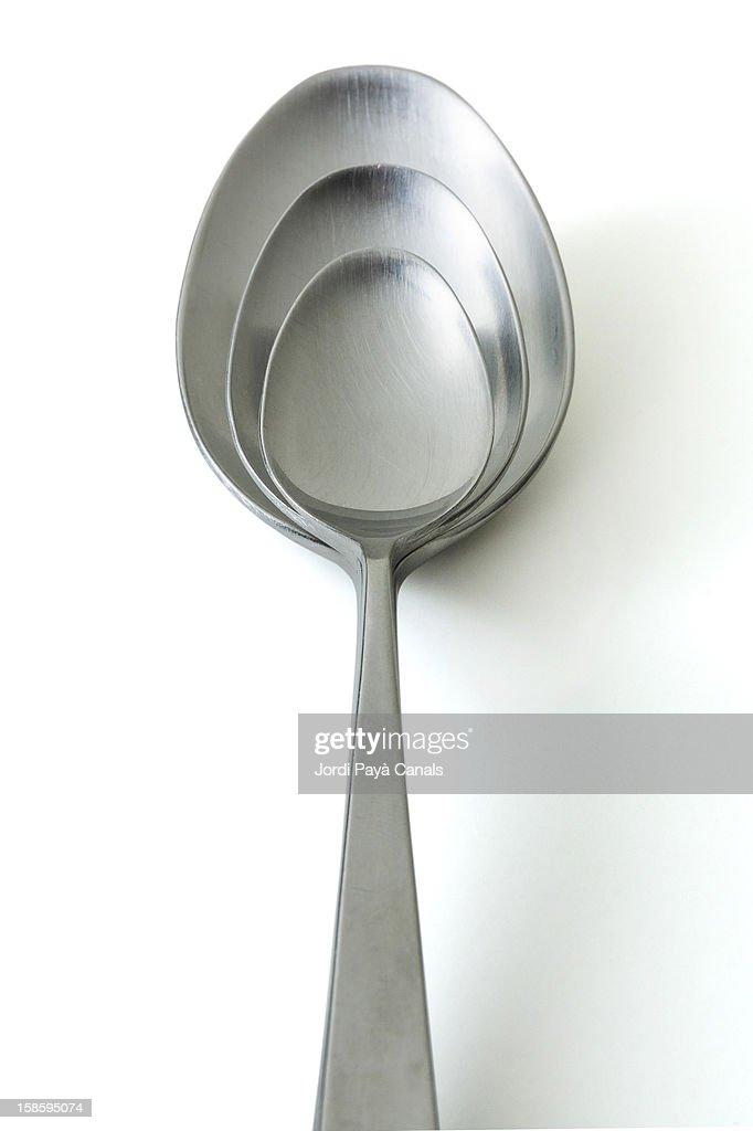 Spoon matryoshka : Stock Photo