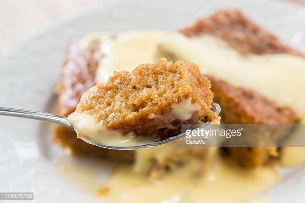 Spoonful of malva pudding
