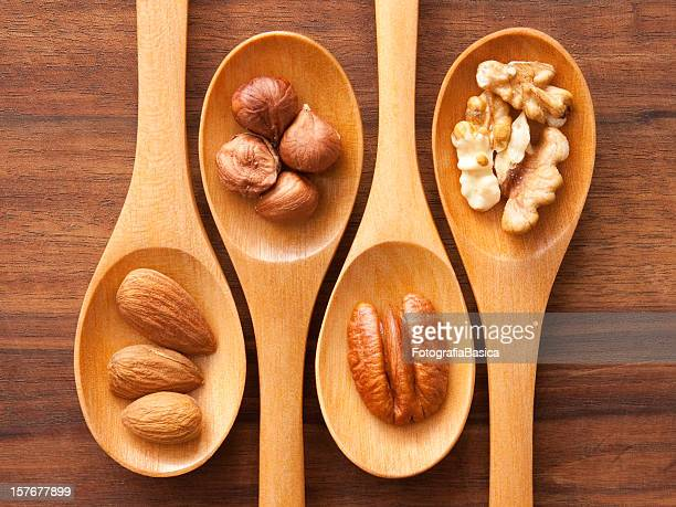 Spoons and nuts